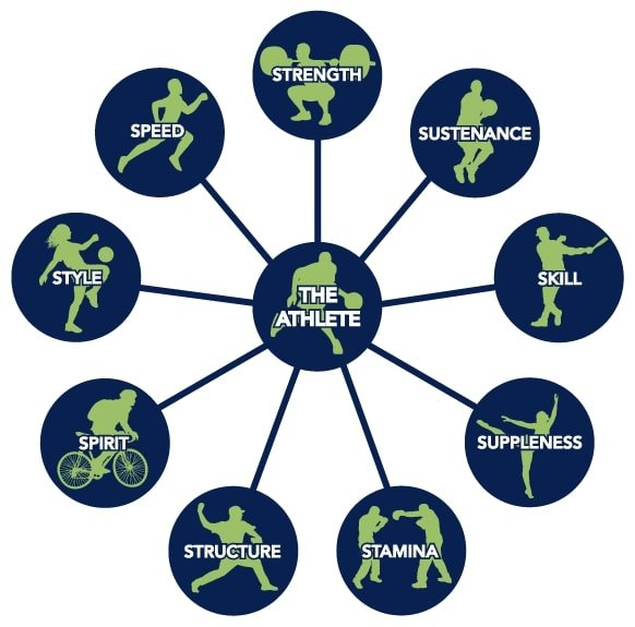 Z-Health 9S Athletic Development Model